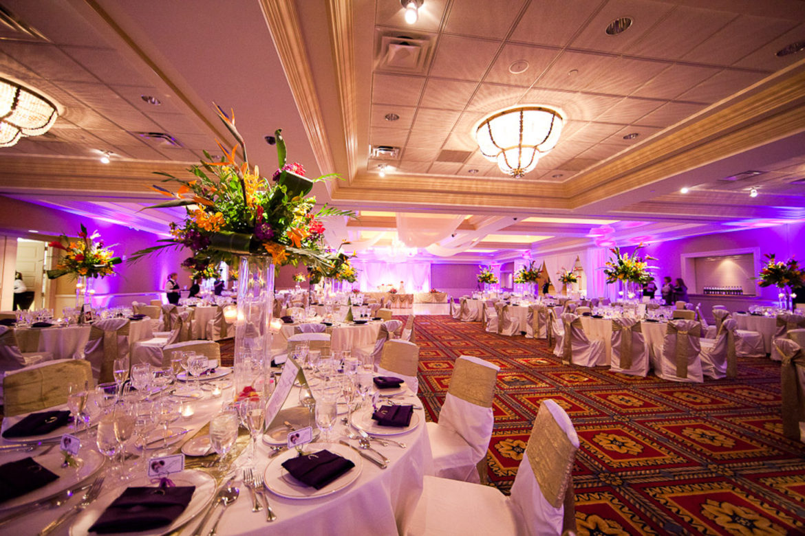 Elegant_Event_Lighting_Chicago_Bolingbrook_Golf_Club_Wedding_Purple_Uplighting_Reception