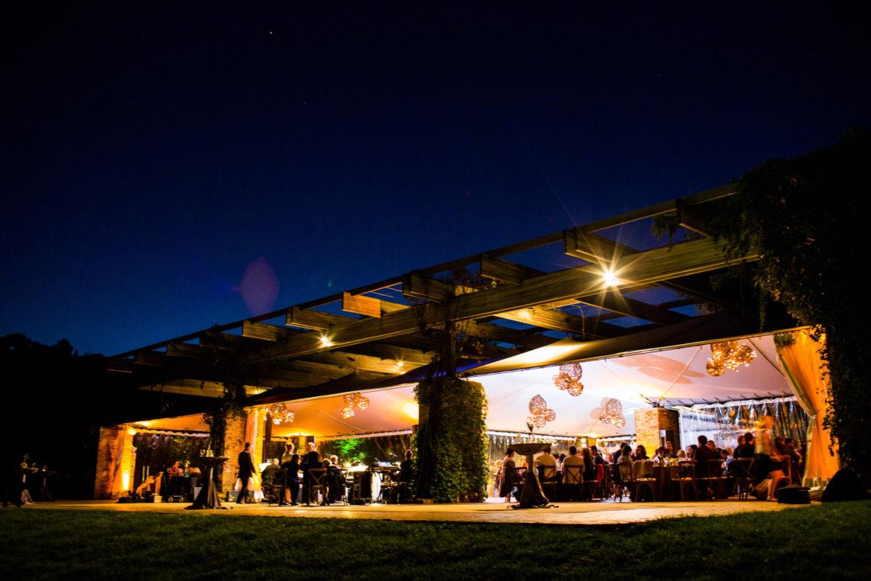 Elegant_Event_Lighting_Chicago_Botanic_Gardens_Glencoe_Wedding_Amber_Uplighting_Twinkle_Grapevine_Balls_Dance