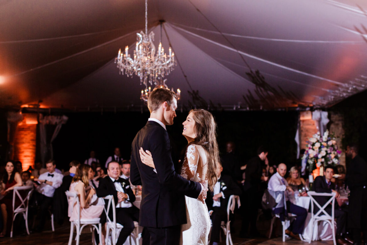 Elegant_Event_Lighting_Chicago_Botanic_Gardens_Glencoe_Wedding_Cafe_Globe_Lighting_First_Dance_Crystal_Chandelier