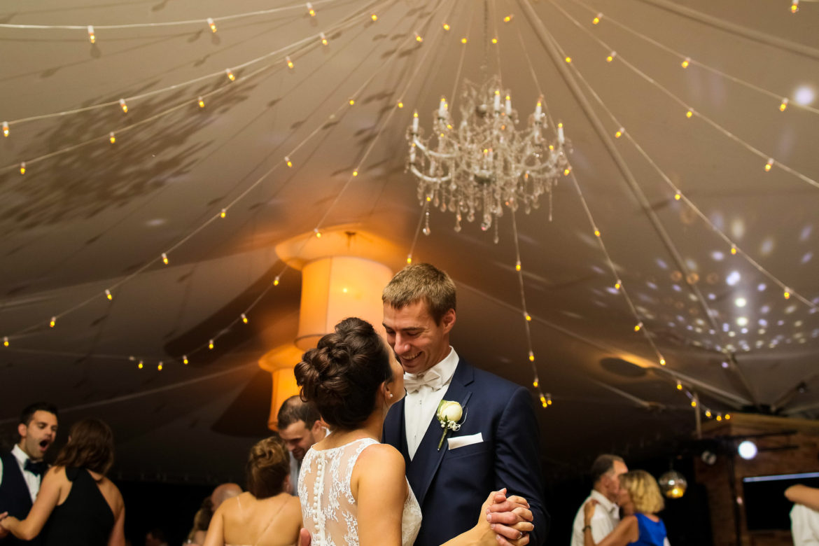 Elegant_Event_Lighting_Chicago_Botanic_Gardens_Wedding_Crystal_Chandlier_Cafe_Globe_String_Lighting_First_Dance