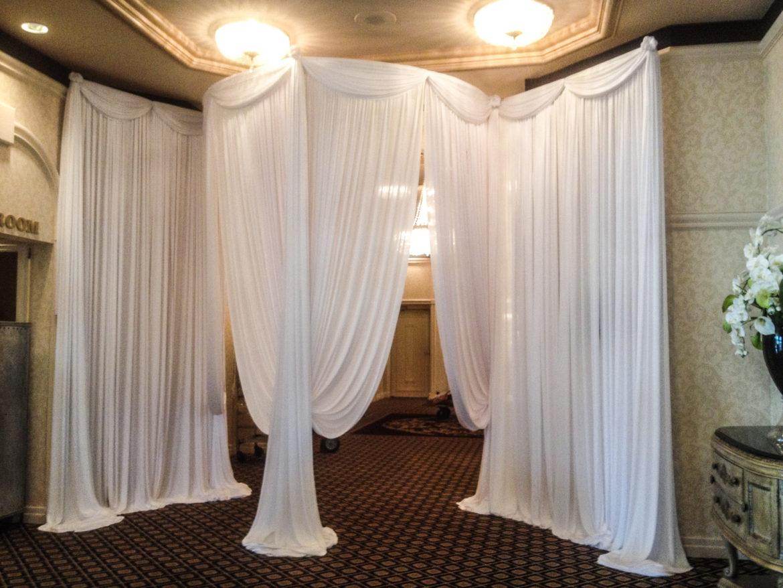 Elegant_Event_Lighting_Chicago_Carlisle_Wedding_Uplighting_White_Draping_Drape_Opening