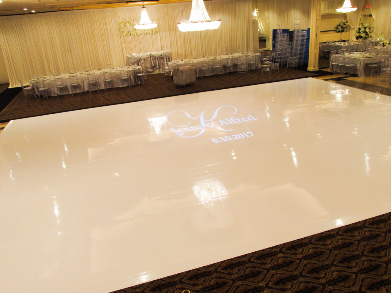 Elegant_Event_Lighting_Chicago_Carlisle_Wedding_White_Dance_Floor_Monogram_Lighting_Draping