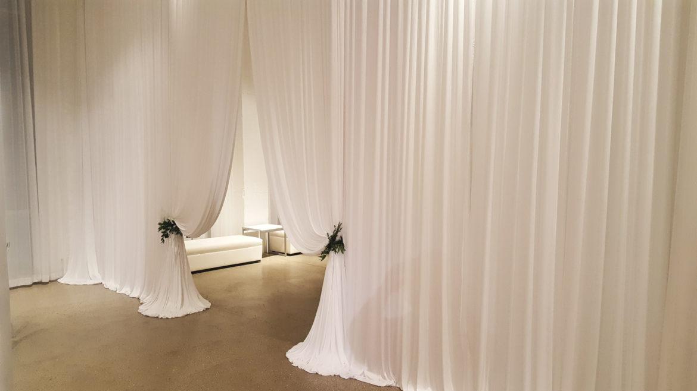 Elegant_Event_Lighting_Chicago_Chez_Wedding_White+Draping_Entrance