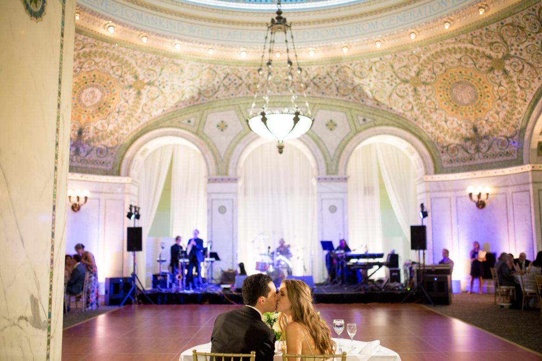 Elegant_Event_Lighting_Chicago_Cultural_Center_Preston_Bradley_Hall_Wedding_-Draping_Reception_White_LED_Uplighting