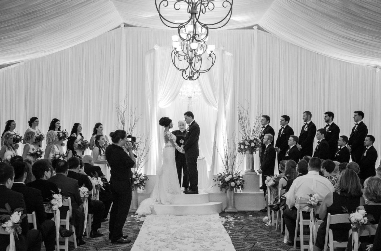 Elegant_Event_Lighting_Chicago_Eaglewood_Resort_Spa_Itasca_Wedding_Bridal_Canopy_White_Draping_Backdrop_Ceremony