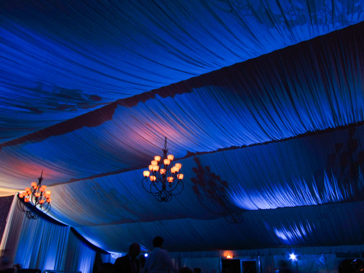 Elegant_Event_Lighting_Chicago_Eaglewood_Resort_Spa_Itasca_Wedding_Ceiling_Lighting_Blue