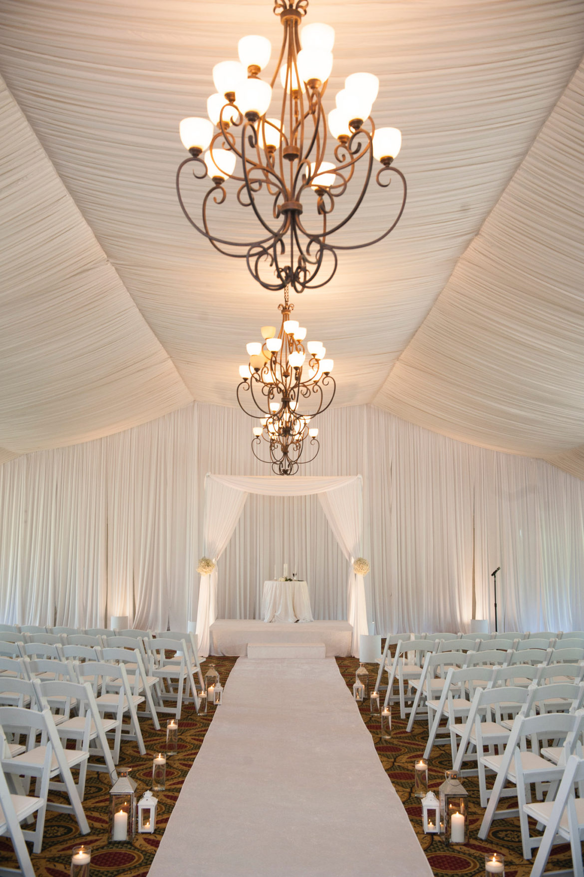 Elegant_Event_Lighting_Chicago_Eaglewood_Resort_Spa_Itasca_Wedding_Draping_White_Tent_Decor_Aisle_Runner_Bridal_Canopy