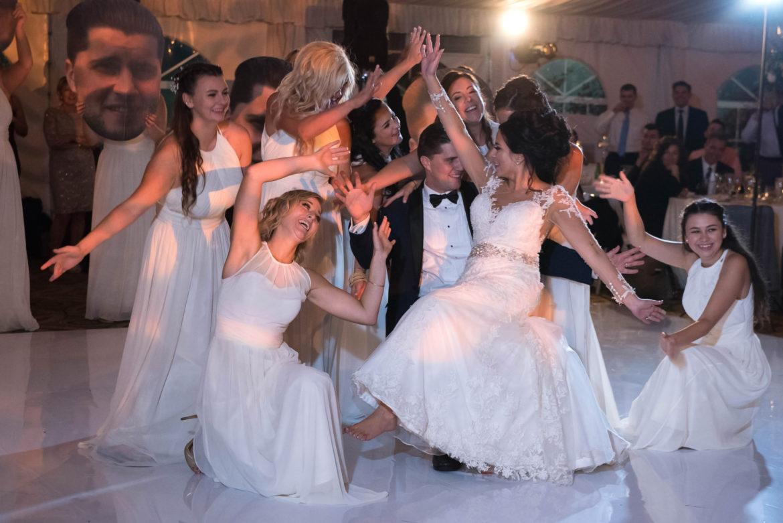 Elegant_Event_Lighting_Chicago_Eaglewood_Resort_Spa_Itasca_Wedding_Reception_Dancing_White_Dance_Floor_Vinyl