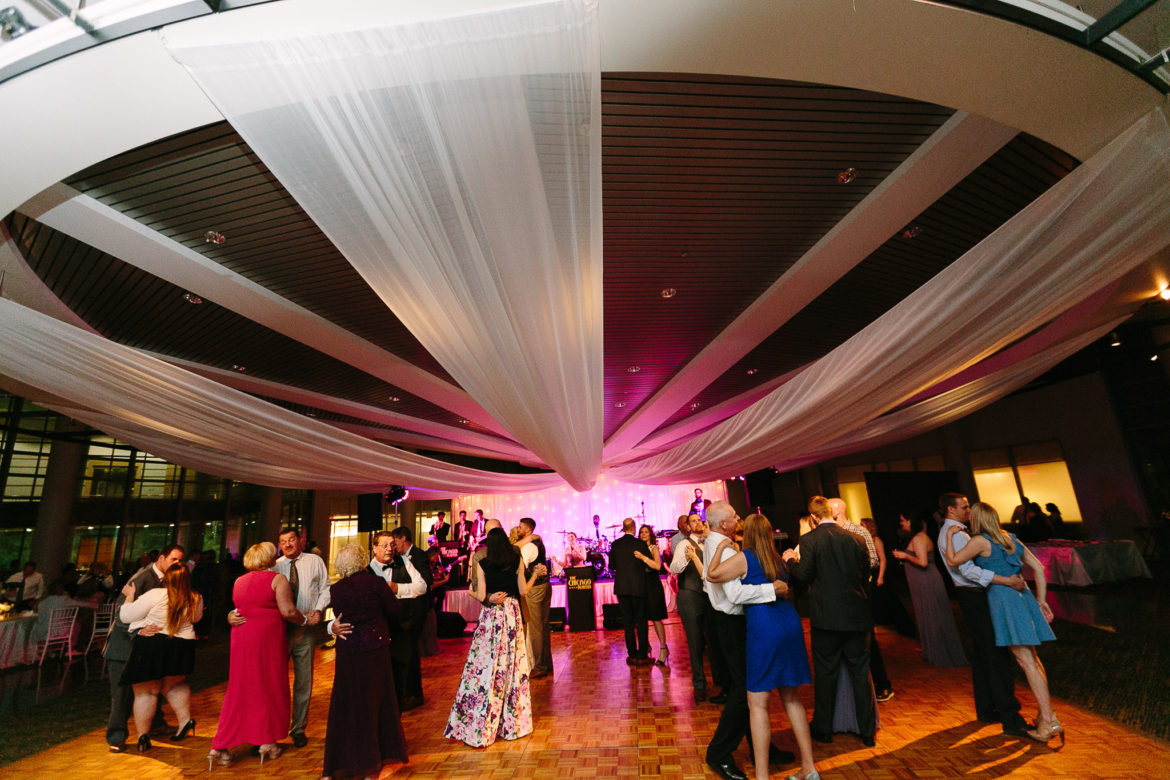 Elegant_Event_Lighting_Chicago_Esplanade_Lakes_Double_Tree_Downers_Grove_Wedding_Ceiling_Drapes_Dancing_Reception_Backdrop