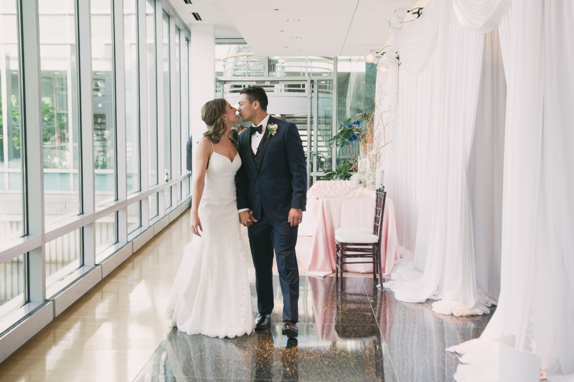 Elegant_Event_Lighting_Chicago_Esplanade_Lakes_Double_Tree_Downers_Grove_Wedding_White_Draping_Hallway