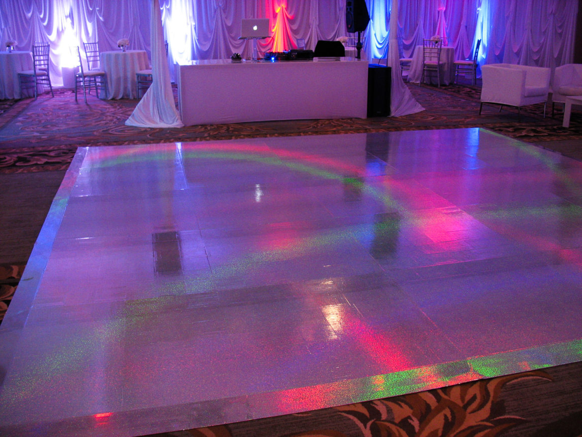 Elegant_Event_Lighting_Chicago_Four_Seasons_Wedding_Galactic_Space_Dance_Floor_Vinyl_Rainbow