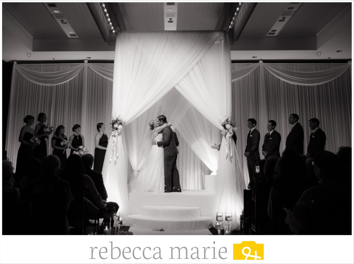 Elegant_Event_Lighting_Chicago_Hotel_Arista_Naperville_Wedding_Bridal_Canopy_Stage_Cover_Draping_Backdrop