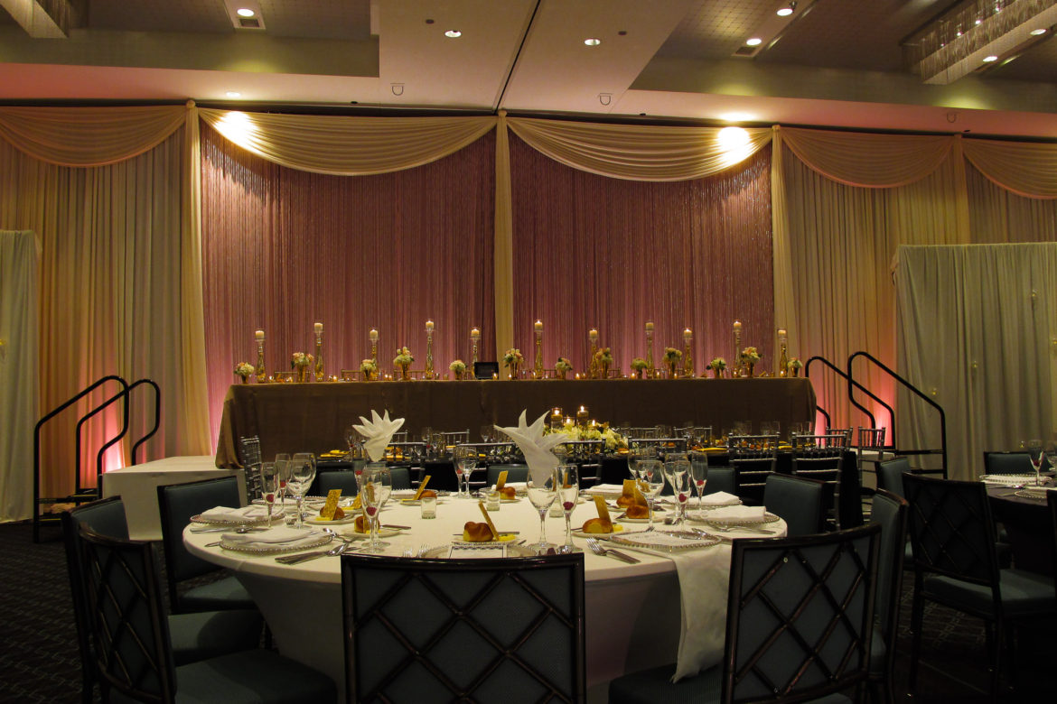 Elegant_Event_Lighting_Chicago_Hotel_Arista_Naperville_Wedding_Crystal_Curtains_Ivory_Pink_Uplighting