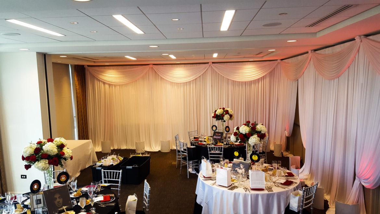 Elegant_Event_Lighting_Chicago_Hotel_Arista_Naperville_Wedding_Santorini_Room_Draping_Red_Uplighting