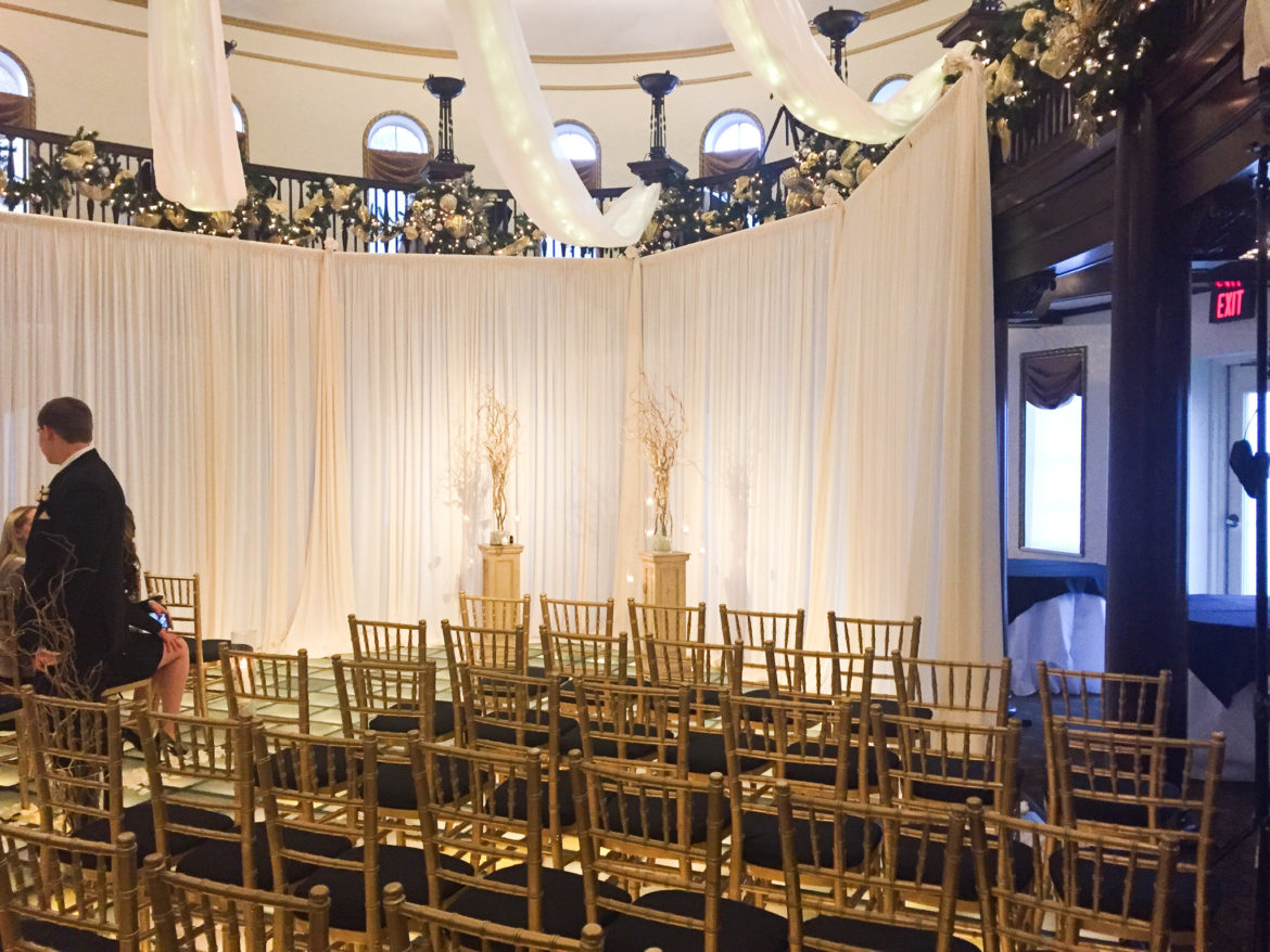 Elegant_Event_Lighting_Chicago_Hotel_Baker_St_Charles_Wedding_Ivory_Draping_Ceremony