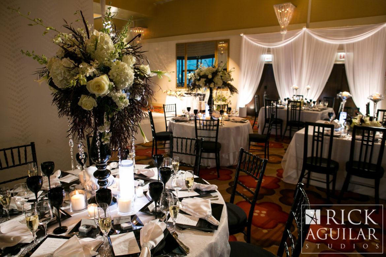 Elegant_Event_Lighting_Chicago_Hotel_Palomar_Wedding_White_Uplighting_Entrance_Draping