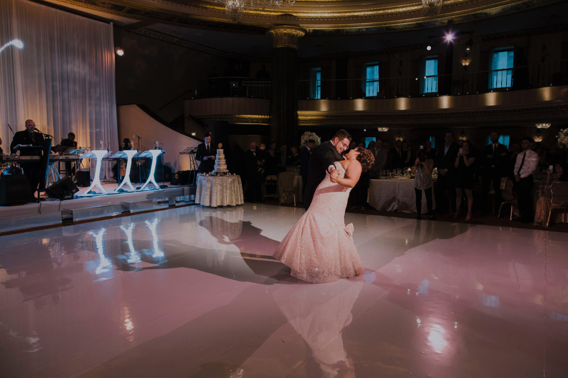 Elegant_Event_Lighting_Chicago_Intercontinental_Wedding_Dance_Floor_Lighting_White_Dance_Floor