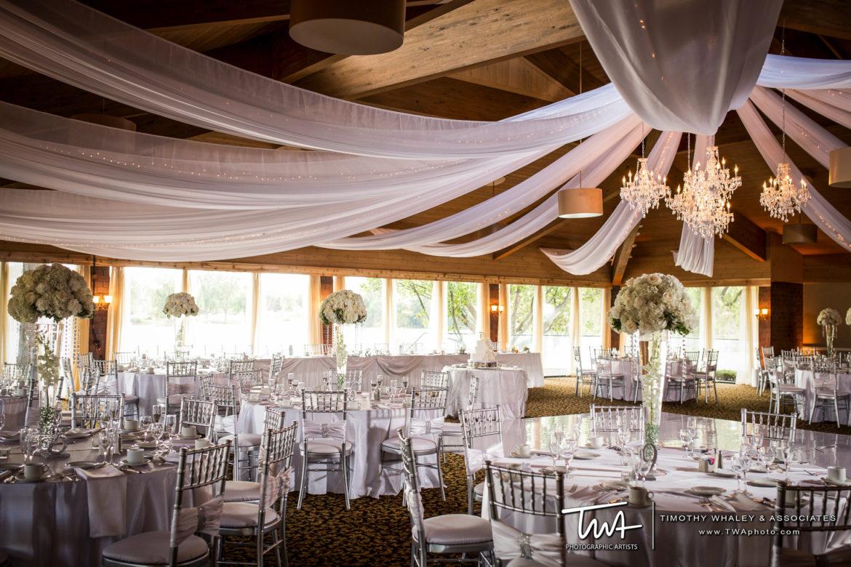Elegant_Event_Lighting_Chicago_Kemper_Lakes_Kildeer_Wedding_Ceiling_Draping_String_Lights_Crystal_Chandelier_Flower.