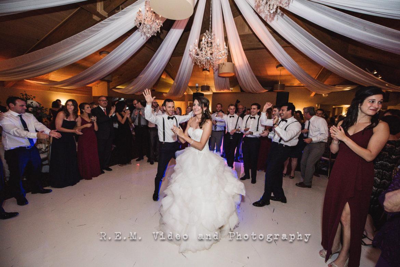 Elegant_Event_Lighting_Chicago_Kemper_Lakes_Kildeer_Wedding_Uplighting_Ceiling_Drapes_Crystal_Chandeliers_Whtie_Vinyl_Dance_Floor