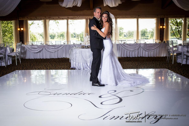 Elegant_Event_Lighting_Chicago_Kemper_Lakes_Kildeer_Wedding_Whtie_Vinyl_Dance_Floor_Monogram