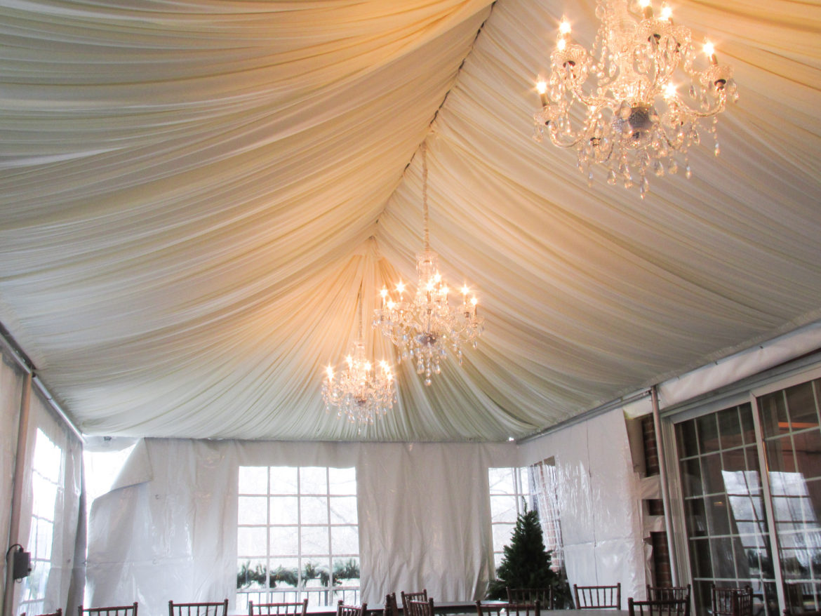 Elegant_Event_Lighting_Chicago_Lake_Forest_IL_Wedding_Ceiling_Draping_Decor_Tent_Draping_Chandeliers