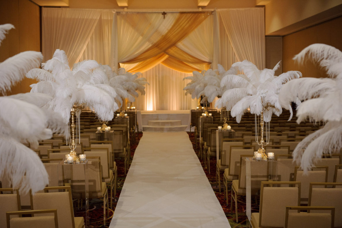 Elegant_Event_Lighting_Chicago_Mariott_Lincolnshire_Lincolnshire_Wedding_Bridal_Canopy_Gatzby_Ceremony_Draping_Chuppah_Gold_Ivory_Amber