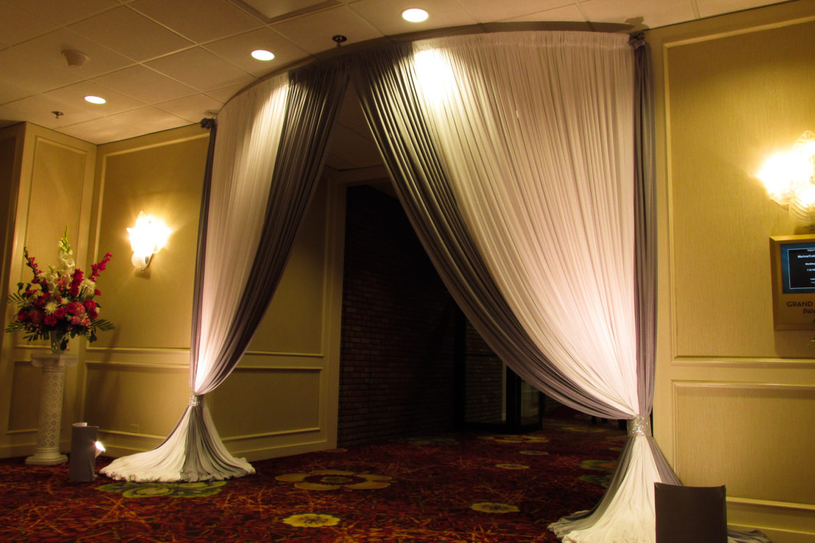 Elegant_Event_Lighting_Chicago_Mariott_Lincolnshire_Lincolnshire_Wedding_Uplighting_Drapes_Chuppah_Bridal_Canopy