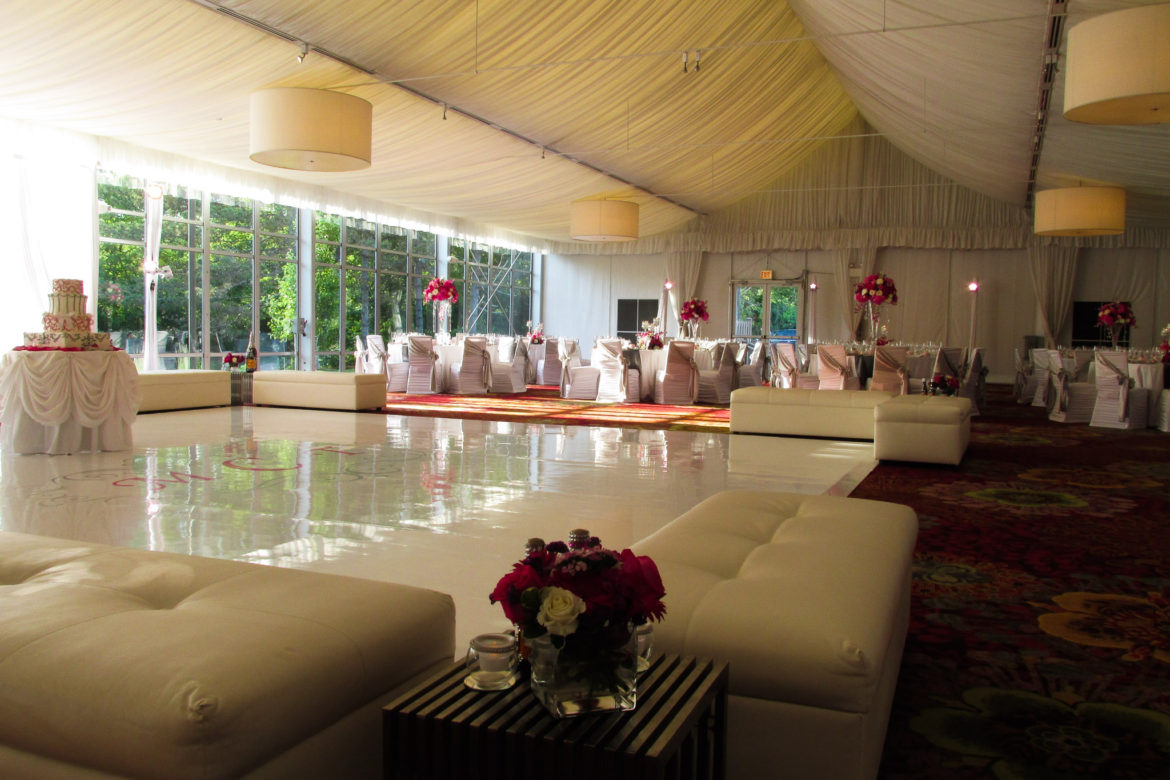 Elegant_Event_Lighting_Chicago_Mariott_Lincolnshire_Lincolnshire_Wedding_White_Dance_Floor_Tent_Reception