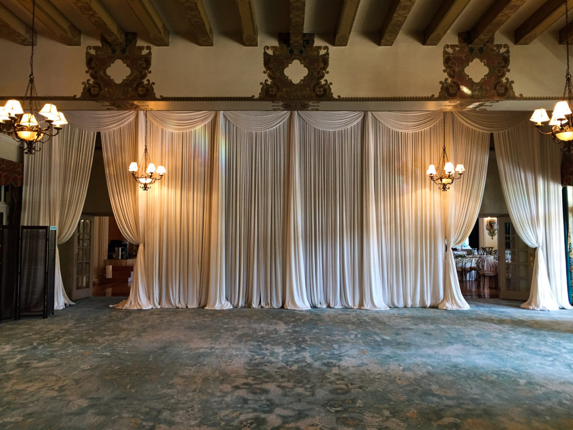 Elegant_Event_Lighting_Chicago_Medinah_Country_Club_Medinah_Wedding_Ivory_Backdrop_Draping_Drape_Opening_Romantic