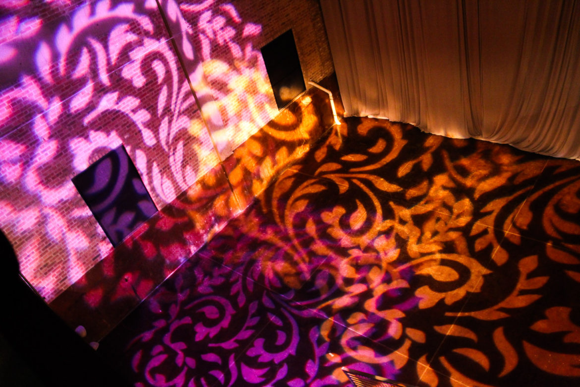 Elegant_Event_Lighting_Chicago_Morgan_Manufacturing_Wedding_Amber_Purple_After_Party_Pattern_Dance_Floor_Lighting