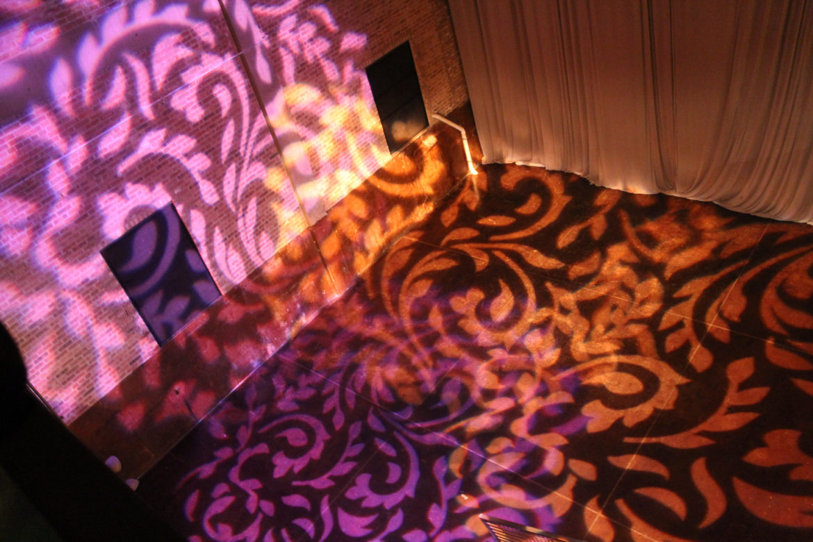 Elegant_Event_Lighting_Chicago_Morgan_Manufacturing_Wedding_Amber_Purple_Pattern_Lighting