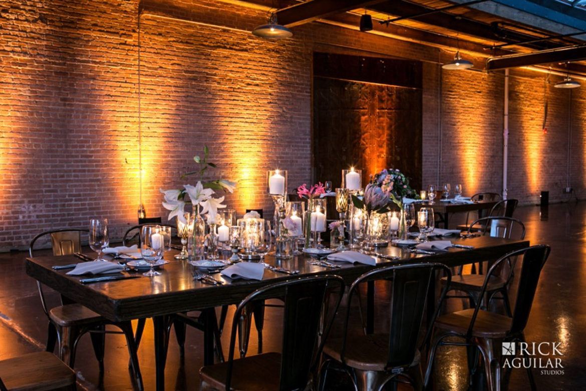 Elegant_Event_Lighting_Chicago_Morgan_Manufacturing_Wedding_Amber_Uplighting_Rustic_Brick