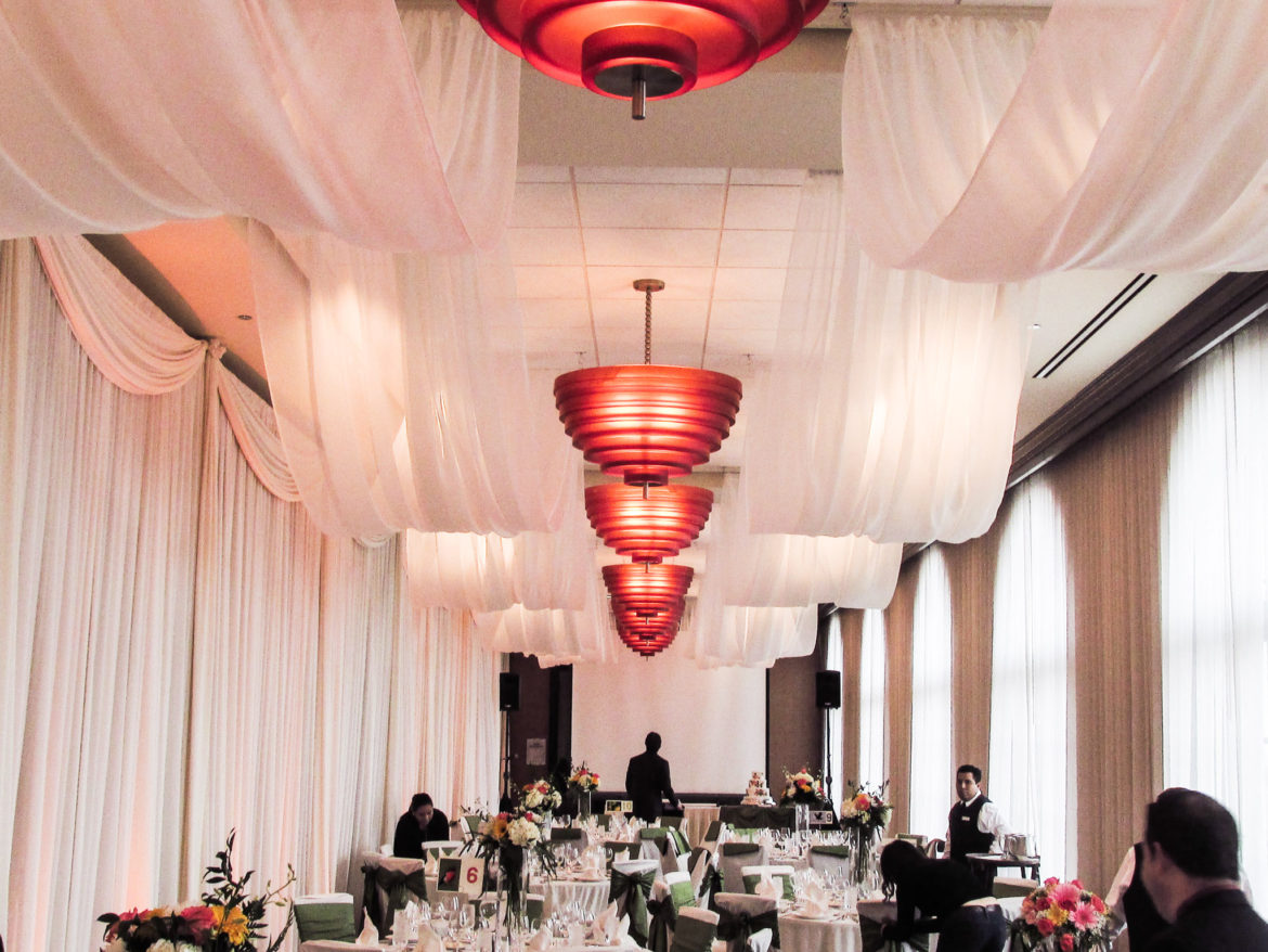 Elegant_Event_Lighting_Chicago_Orrington_Evanston_Wedding_Uplighting_Backdrop_Twinkle_Ceiling_Draping_Fairy_Lights_Cloud_Ceiling_Drapes