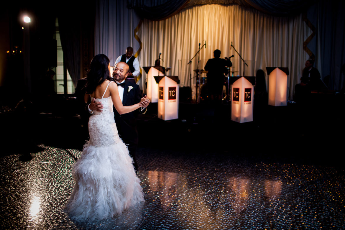 Elegant_Event_Lighting_Chicago_Palmer_House_Hilton_Wedding_Dance_Floor_Shimmer_Galaxy