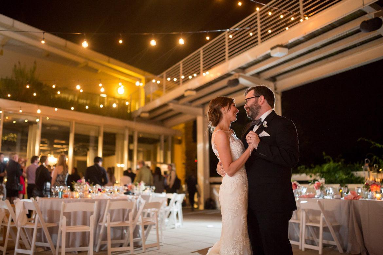 Elegant_Event_Lighting_Chicago_Peggy_Notebaert_Wedding_Outdoor_Cafe_Globe_Lights_First_Dance