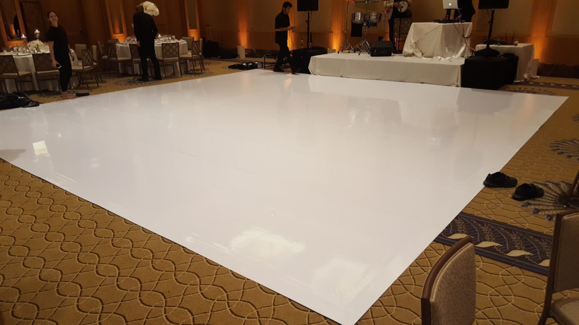 Elegant_Event_Lighting_Chicago_Peninsula_Hotel_Ballroom_Wedding_White_Vinyl_Dance_Floor