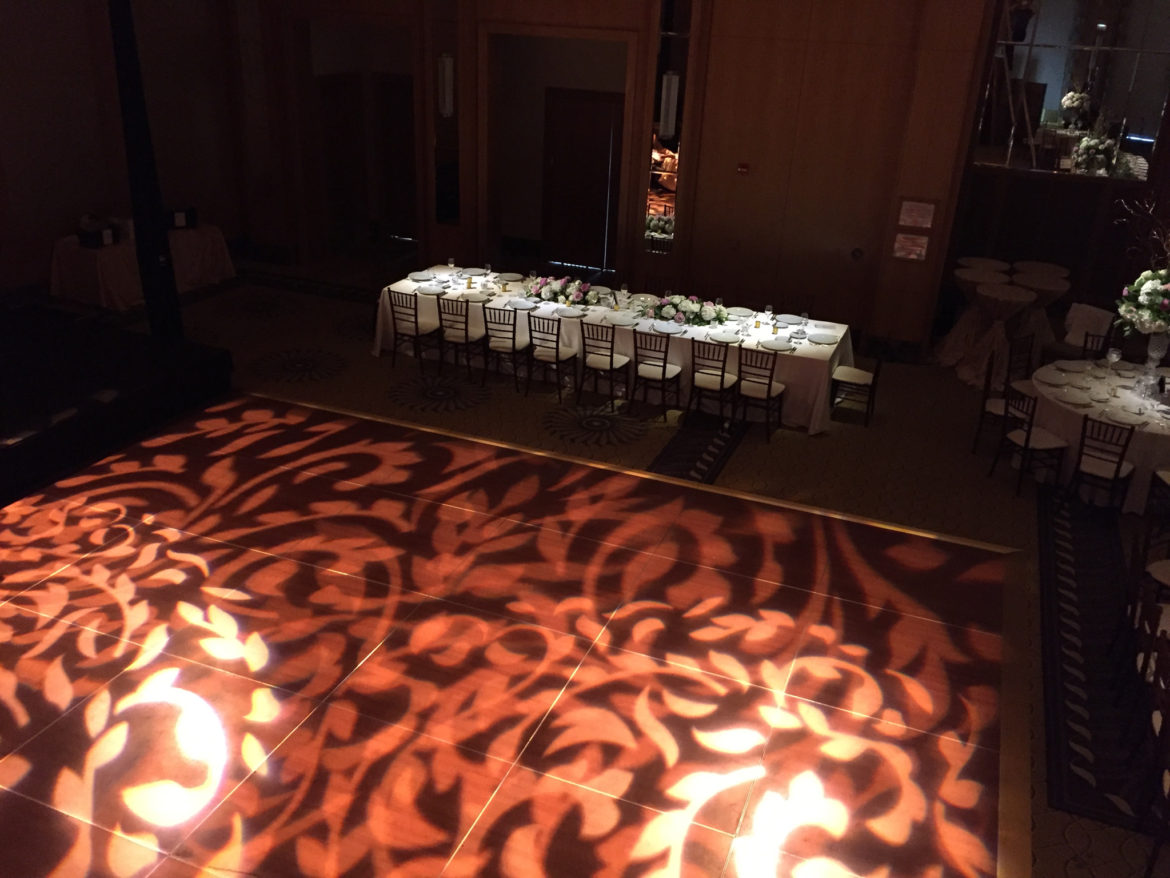 Elegant_Event_Lighting_Chicago_Peninsula_Hotel_Wedding_Dance_Floor_Pattern_Lighting