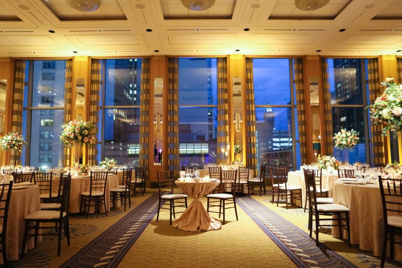 Elegant_Event_Lighting_Chicago_Peninsula_Hotel_Wedding_Flower_Lighting_LED_Uplighting