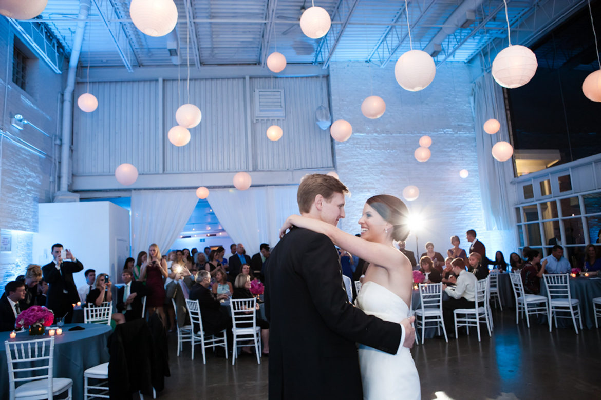 Elegant_Event_Lighting_Chicago_Prarie_Production_Wedding_Uplighting_Backdrop_Drape_Opening_Pattern_Lighting_Paper_Lanterns_Paper_Globes_First_Dance