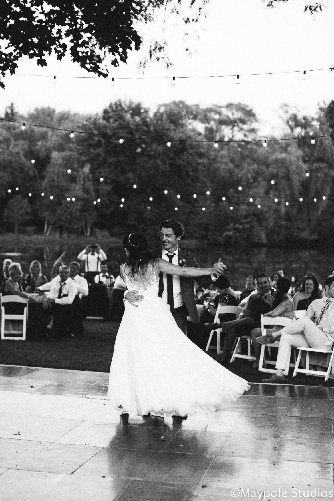 Elegant_Event_Lighting_Chicago_Residence_Wedding_Cafe_String_Globe_Lighting_First_Dance_Romantic
