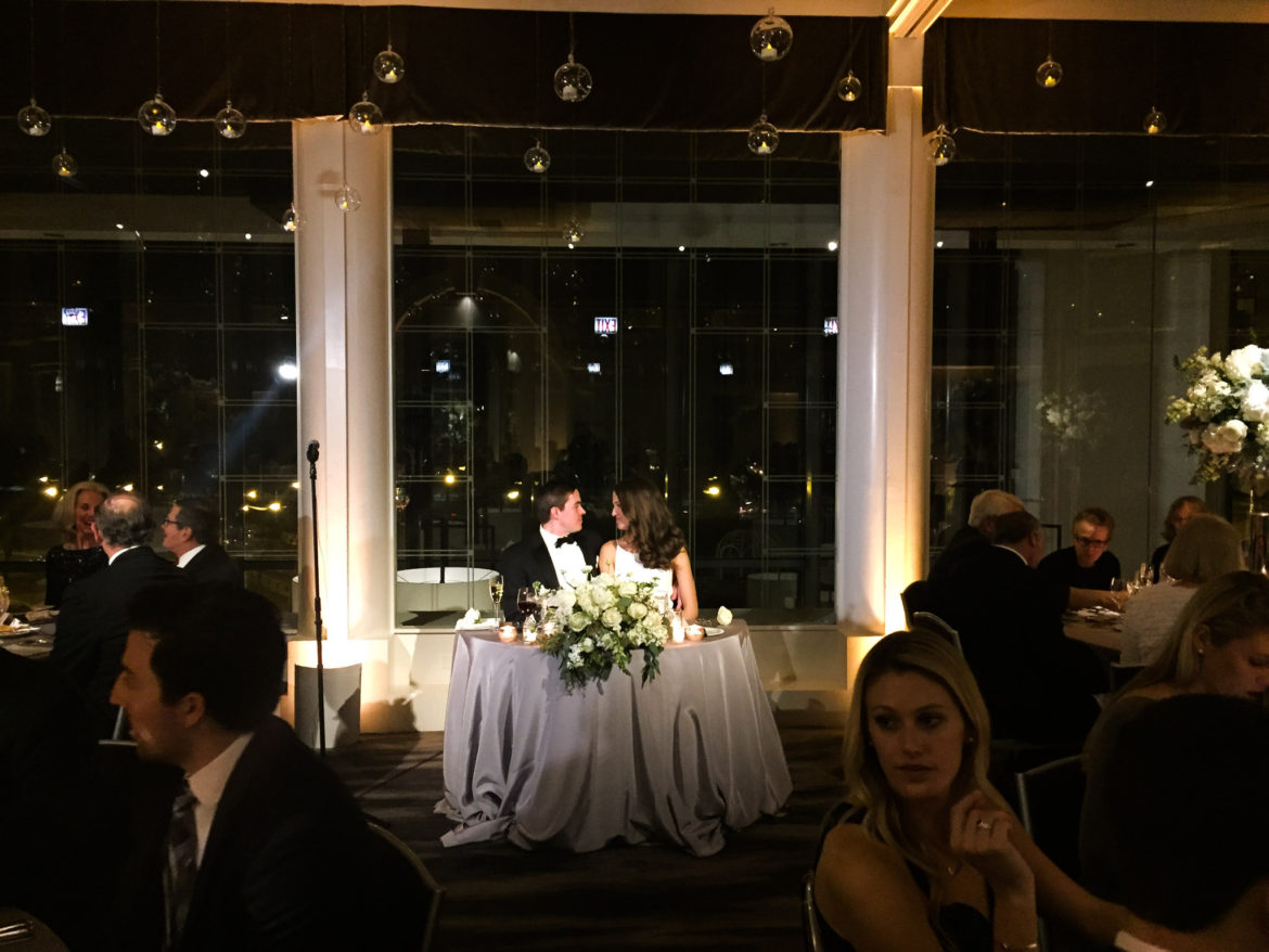 Elegant_Event_Lighting_Chicago_Spiaggia_Wedding_Amber_Uplighting_Flower_Centerpice_Lighting_Sweetheart_Table_Lighting