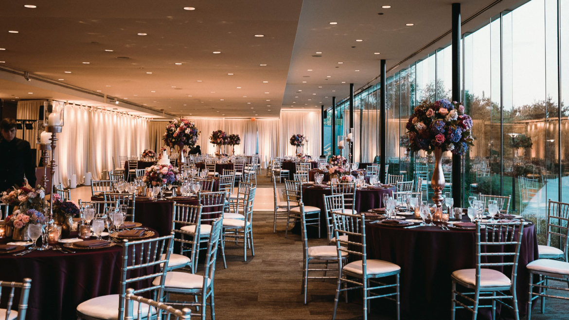 Elegant_Event_Lighting_Chicago_The_Morton_Arboretum_Lisle_Ginko_Room__Wedding_Room_Draping_Blush_Pink_Uplighting