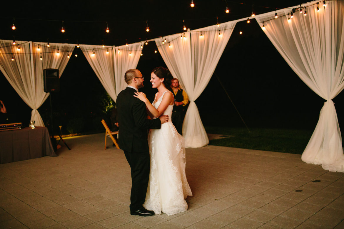 Elegant_Event_Lighting_Chicago_The_Morton_Arboretum_Lisle_Thornhill_Wedding_First_Dance_Outdoor_Cafe_Lighting