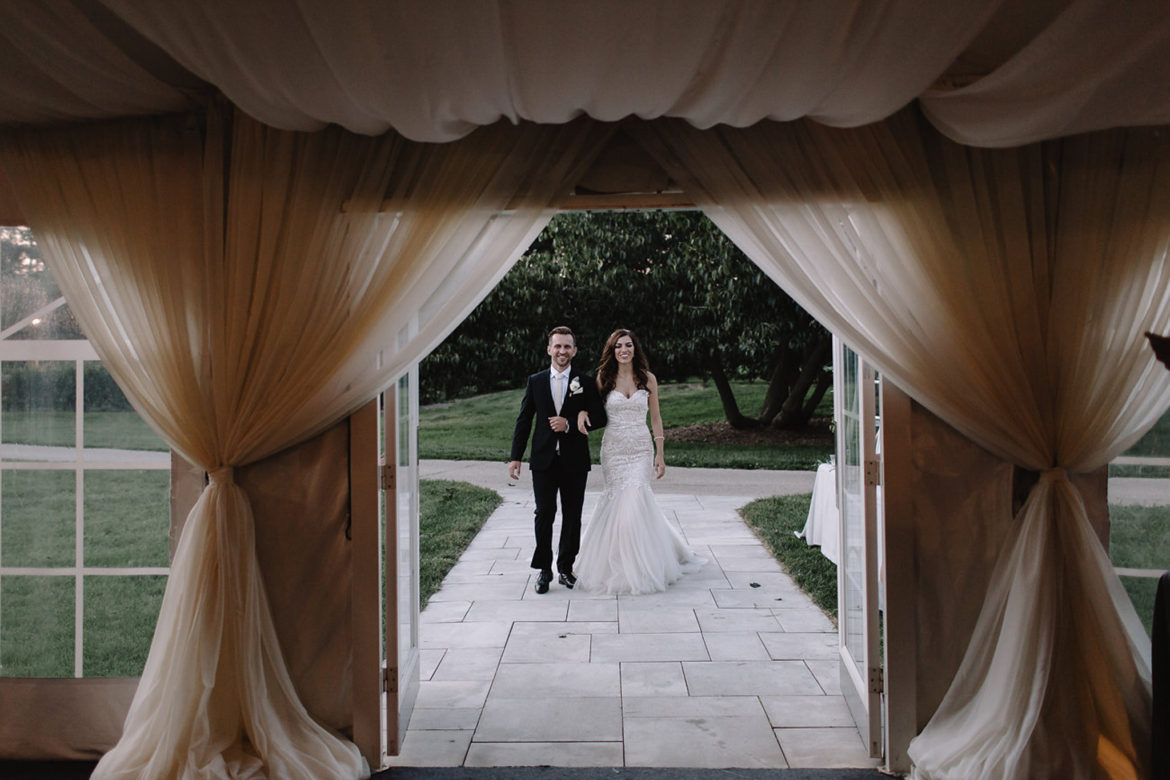 Elegant_Event_Lighting_Chicago_The_Morton_Arboretum_Lisle_White_White_Pavilion_Wedding_Entrance_Draping
