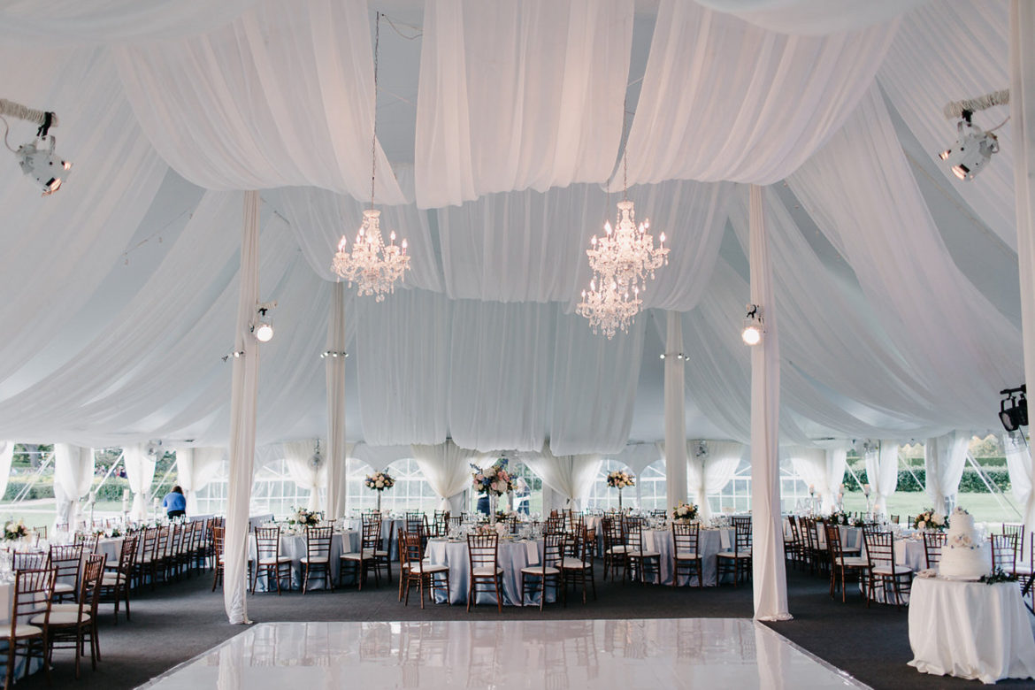 Elegant_Event_Lighting_Chicago_The_Morton_Arboretum_Lisle_White_White_Pavilion_Wedding_White_Dance_Floor_Crystal_Chandelier_Ceiling_Drapes