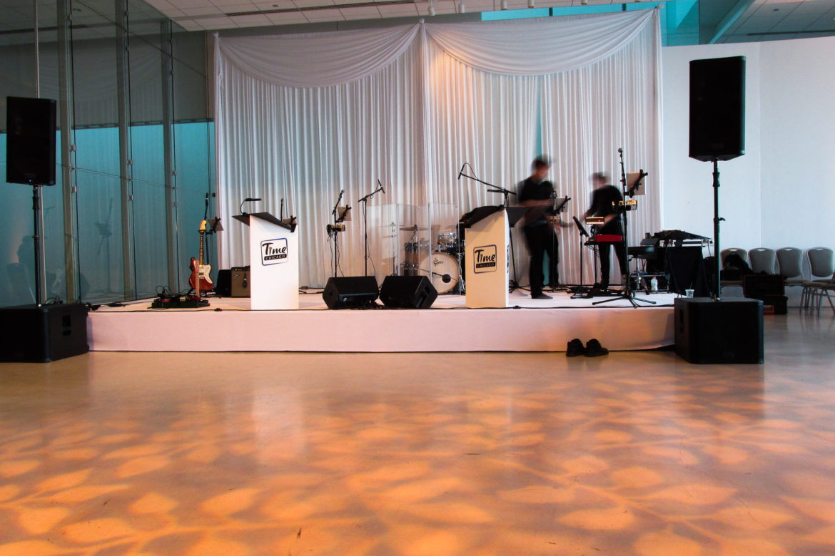 Elegant_Event_Lighting_Chicago_Venue_Six_10_Wedding_Pattern_Lighting_Band_Backdrop