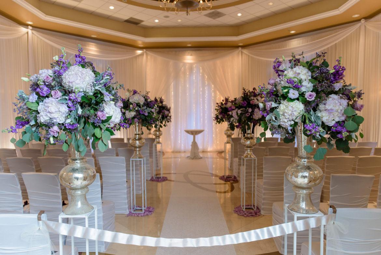 Elegant_Event_Lighting_Chicago_Venutis_Addison_Wedding_Ceremony_Vita_White_Draping_Twinkle_Light_Backdrop