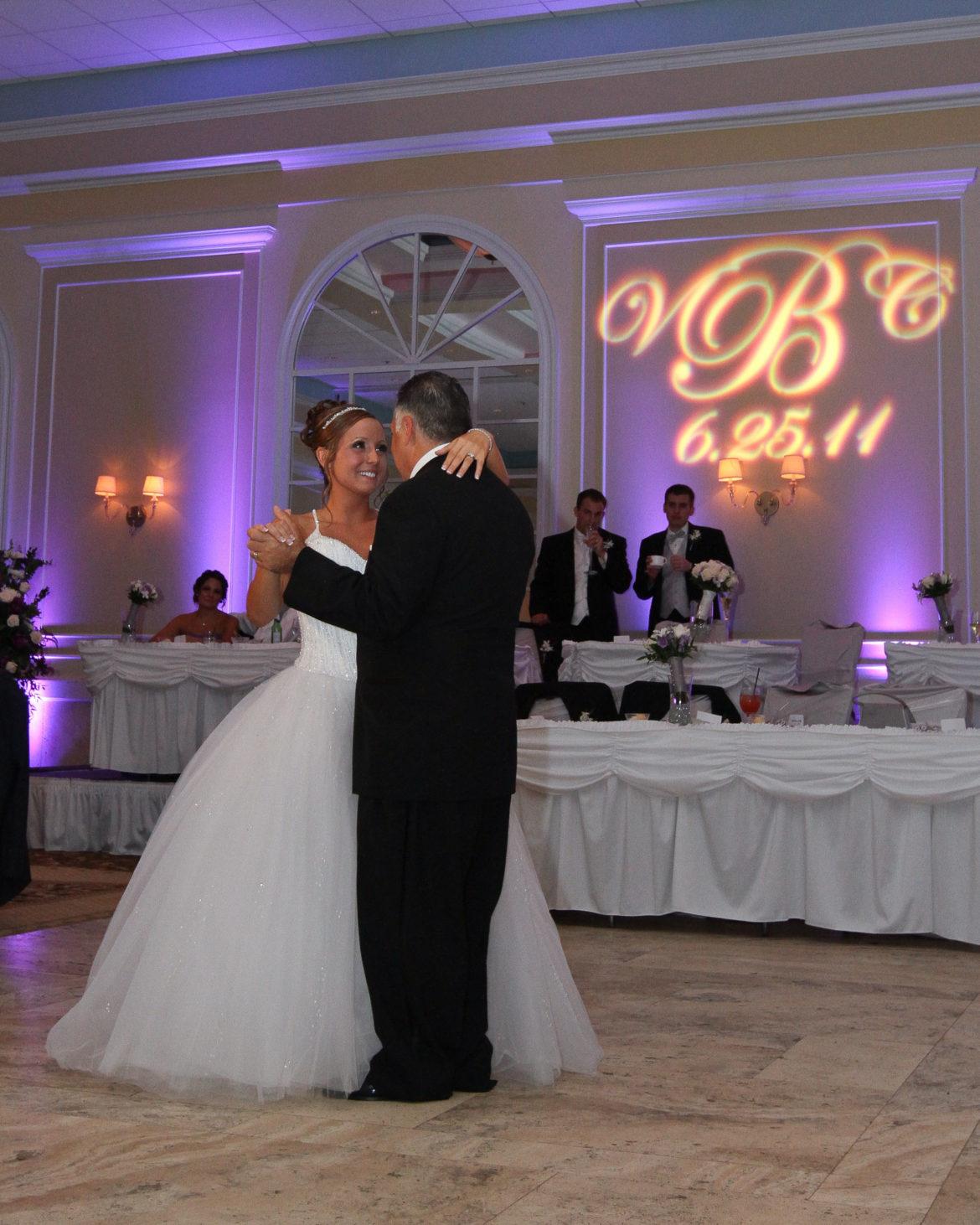 Elegant_Event_Lighting_Chicago_Venutis_Addison_Wedding_Purple_LED_Uplighting_Monogram