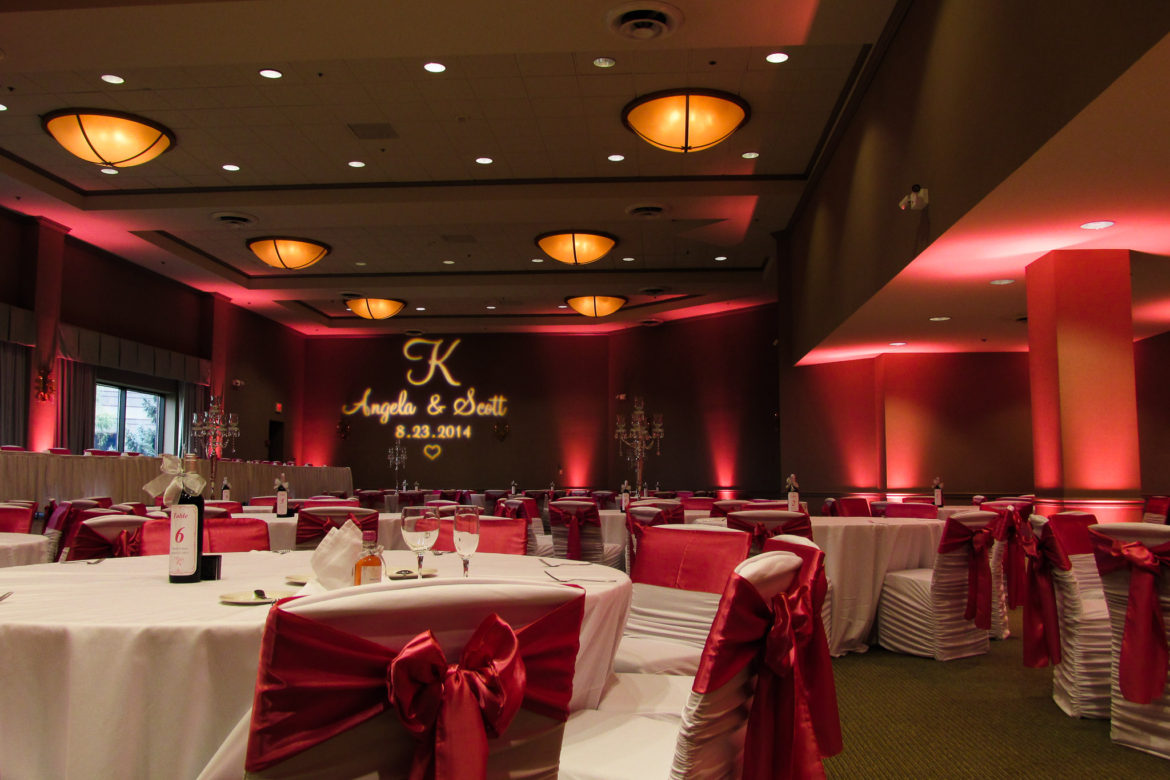 Elegant_Event_Lighting_Chicago_Westin_Itasca_Wedding_Red_LED_Uplighting_MOnogram