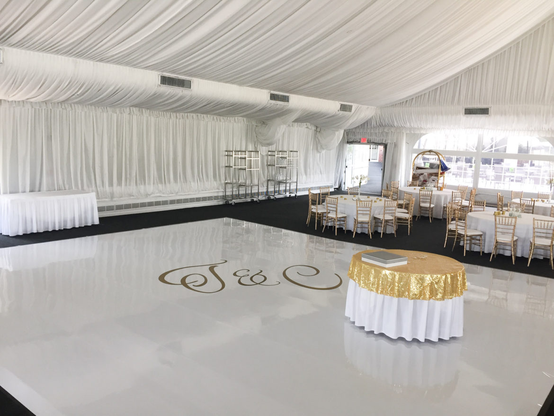 Elegant_Event_Lighting_Chicago_Westin_Itasca_Wedding_White_Dance_Floor_Monogram